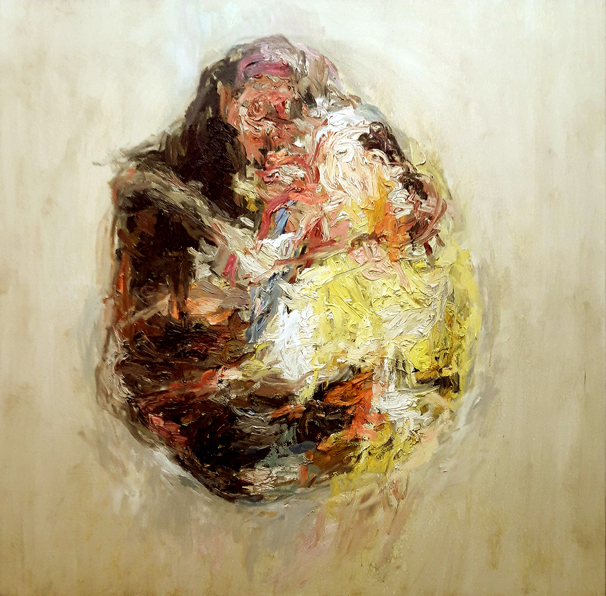 khyyam-zedan-150-150cm-oil-on-canvas-2018